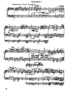 Prelude and Fugue No.5 in D Major, BWV 874: For piano by Johann Sebastian Bach