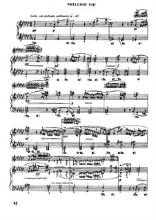 Prelude and Fugue No.8 in E Flat Minor, BWV 853: For piano by Johann Sebastian Bach
