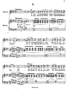 Memories, Op.71: Nr.5 So standen wir im Pohrenhain by Anton Arensky