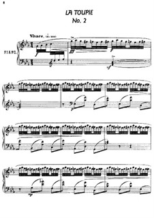 Twenty-Four Characteristic Pieces, Op.36: No.2 La Toupie (The Top) by Anton Arensky