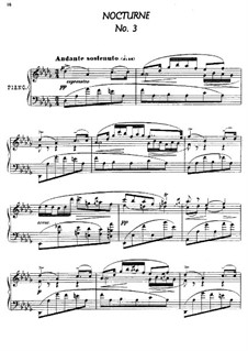 Twenty-Four Characteristic Pieces, Op.36: No.3 Nocturne by Anton Arensky