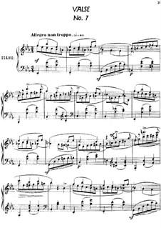 Twenty-Four Characteristic Pieces, Op.36: No.7 Valse (Waltz) by Anton Arensky