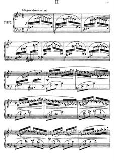 Près de la Mer, Op.52: Sketch No.2 by Anton Arensky