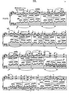 Près de la Mer, Op.52: Sketch No.3 by Anton Arensky