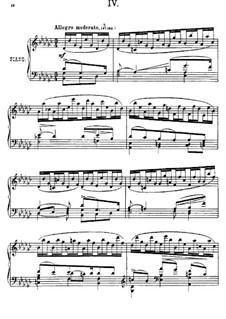 Près de la Mer, Op.52: Sketch No.4 by Anton Arensky