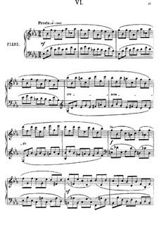Près de la Mer, Op.52: Sketch No.6 by Anton Arensky