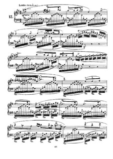 Nocturnes for Piano: Nocturne No.12 by John Field