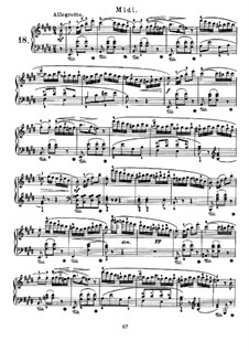 Nocturnes for Piano: Nocturne No.18 by John Field