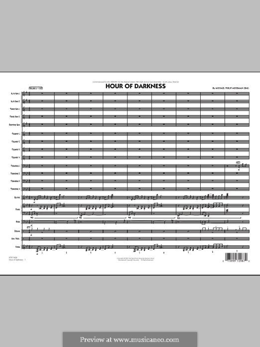 Hour of Darkness: Full Score by Michael Philip Mossman