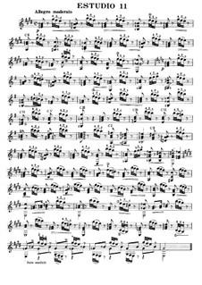 Twelve Etudes, Op.6: Etude No.3 by Fernando Sor