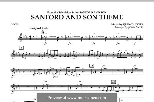 Sanford and Son Theme (arr. John Moss): Oboe part by Quincy Jones