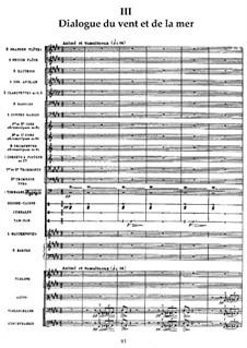 La mer (The Sea), L.109: No.3 Dialogue du vent et de la mer by Claude Debussy