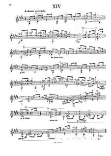 Preludes: Prelude No.5 by Francisco Tárrega