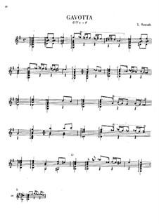 Suite in E Minor: Gavotte by Ludovico Roncalli