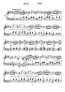Twelve Pieces , TH 138 Op.40: No.8 Waltz by Pyotr Tchaikovsky