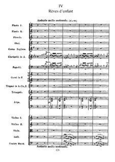 Suite No.2 in C Major, TH 32 Op.53: No.4 Rêves d'enfant by Pyotr Tchaikovsky