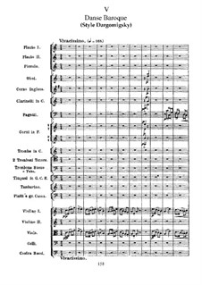 Suite No.2 in C Major, TH 32 Op.53: No.5 Danse baroque by Pyotr Tchaikovsky