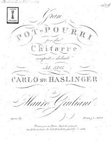 Grand Potpourri for Two Guitars, Op.67: Grand Potpourri for Two Guitars by Mauro Giuliani