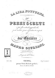 La Lira Notturna for Two Guitars, Op.69: La Lira Notturna for Two Guitars by Mauro Giuliani
