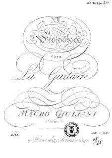 Twelve Ecossaises for Guitar, Op.33: Twelve Ecossaises for Guitar by Mauro Giuliani