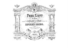Selected Themes, Op.23: For piano four hands by Edvard Grieg