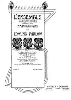 Viennese Waltzes, Op.178: No.10, for two pianos eight hands – piano II part by Cornelius Gurlitt