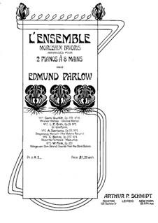 Viennese Waltzes, Op.178: No.10, for two pianos eight hands – piano I part by Cornelius Gurlitt
