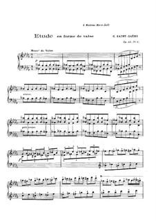 Six Etudes, Op.52: Etude No.6 by Camille Saint-Saëns