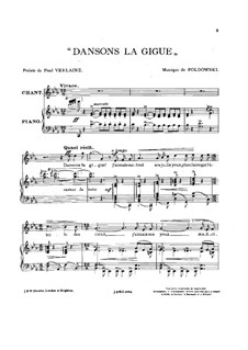 Dansons la gigue: Dansons la gigue by Poldowski