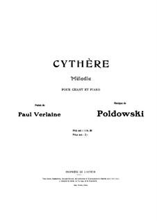 Cythère: Cythère by Poldowski