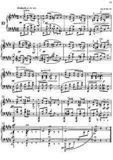 Twenty-Four Preludes, Op.11: Prelude No.10 by Alexander Scriabin