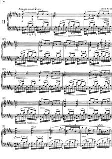 Twenty-Four Preludes, Op.11: Prelude No.11 by Alexander Scriabin