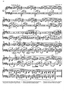 Twenty-Four Preludes, Op.11: Prelude No.12 by Alexander Scriabin