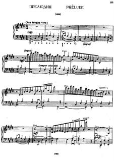 Prelude in H Major: Prelude in H Major by Alexei Stanchinsky