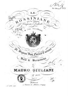 Rossiniana No.2, Op.120: Rossiniana No.2 by Mauro Giuliani
