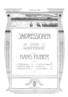 Six Pieces: No.4 Scherzo by Hans Huber