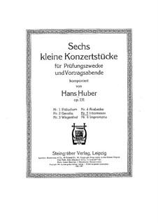 Six Little Concert Pieces, Op.131: No.5 Intermezzo by Hans Huber