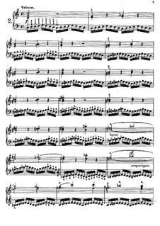 Tausig Edition: Etude No.2 by Muzio Clementi