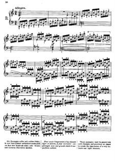 Tausig Edition: Etude No.3 by Muzio Clementi