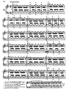 Tausig Edition: Etude No.8 by Muzio Clementi