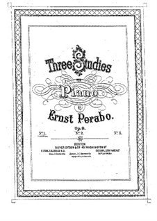 Etude No.1 in C Major, Op.9: Etude No.1 in C Major by Ernst Perabo