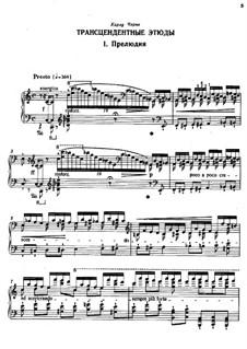 Études d'exécution transcendante, S.139: No.1 Preludio by Franz Liszt