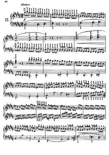 Tausig Edition: Etude No.11 by Muzio Clementi