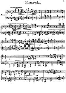 Three Pieces, Op.40: No.3 Humoresque by Sergei Lyapunov