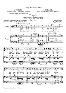Songs and Dances of Death: No.3 Trepak by Modest Mussorgsky