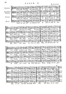 Psalm No.59 'Send Aid and Save Me from My Foes': Psalm No.59 'Send Aid and Save Me from My Foes' by Richard Allison