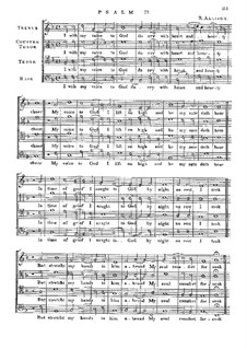 Psalm No.77 'I with My Voice to God': Psalm No.77 'I with My Voice to God' by Richard Allison