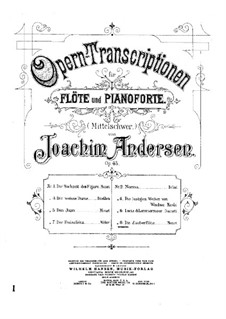 Opera Transcriptions, Op.45: No.8 On Themes from 'The Magic Flute' by Mozart by Joachim Andersen