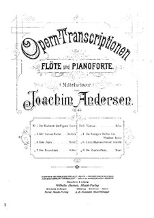 Opera Transcriptions, Op.45: No.2 On Themes from 'Norma' by Bellini by Joachim Andersen