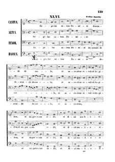 Angelus autem Domini descendit de coelo: Vocal score by Felice Anerio